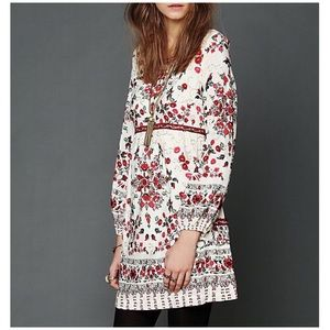 Free People | Russian Doll Floral Mini Dress